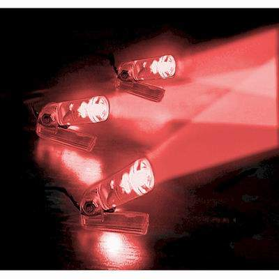 Flexiglow Lazer Beam Kit Includes 3 Super Bright LED ~ Red