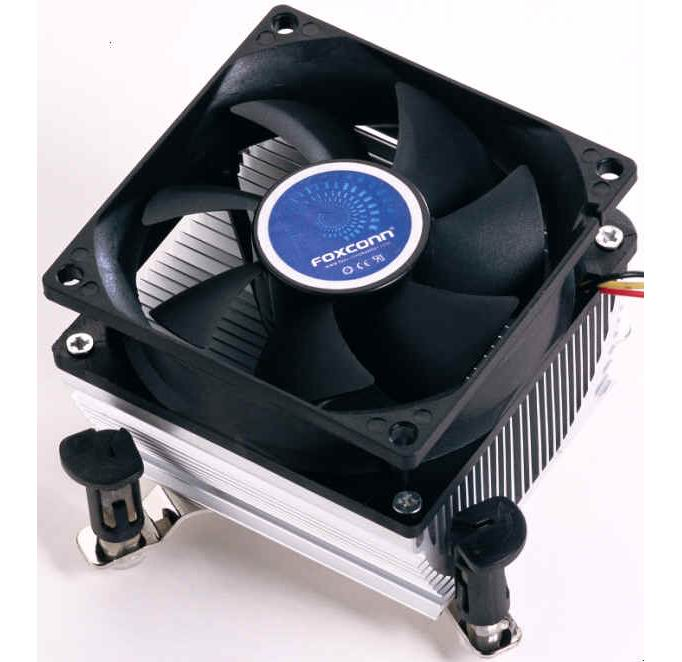 Foxconn CPU Cooling Fan for Intel Processor LGA775 - Super Quiet