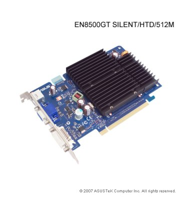 Asus 8500GT Silent 512MB PCI-E Video Card