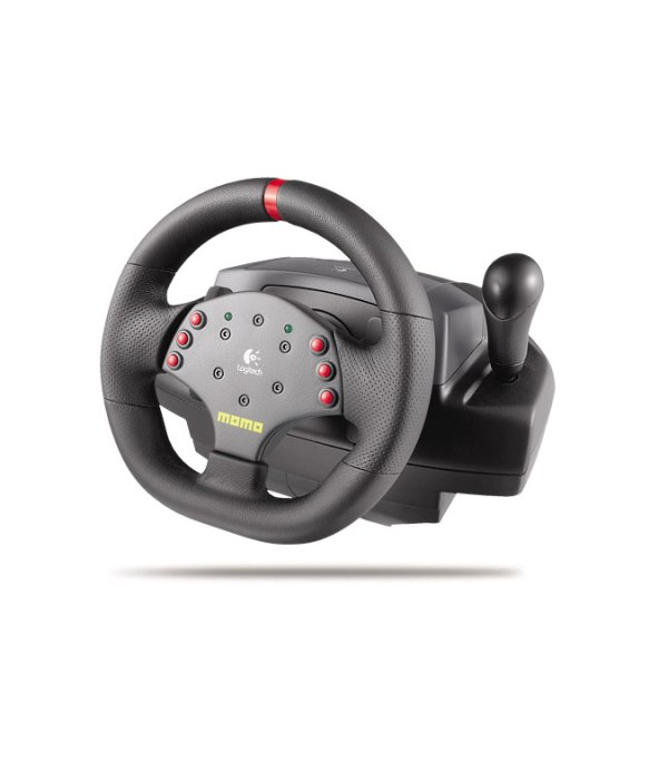 Logitech Momo Force Feedback Steering Wheel