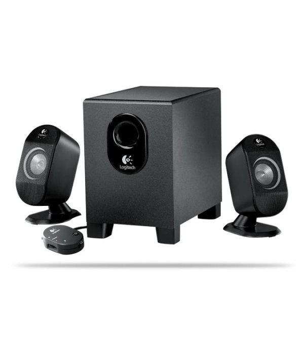 Logitech X-210 (2.1 - 25W) Speakers