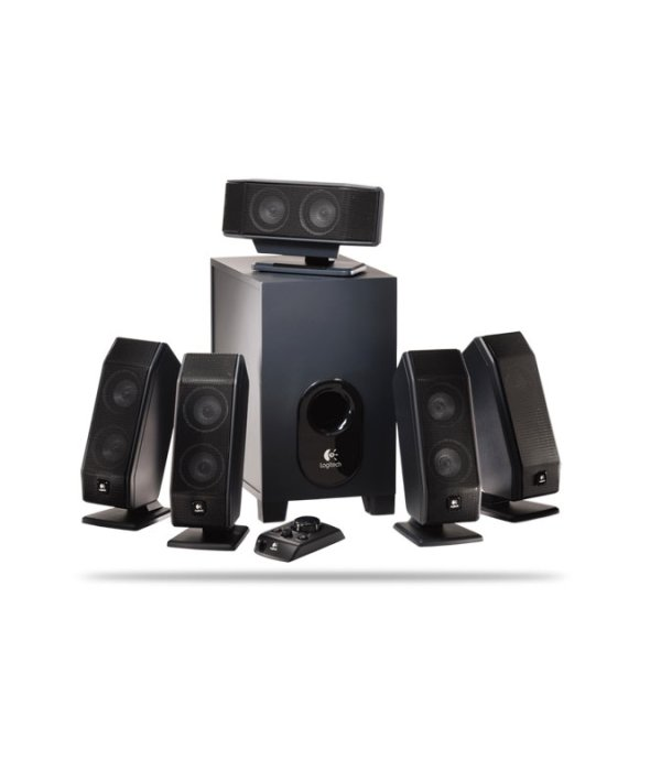 Logitech X-540 (5.1 - 70W) Speakers